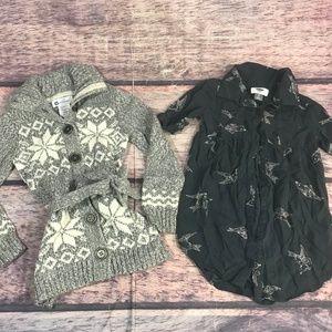 girls sz 5 / 6 dress bundle 2 piece old navy willo